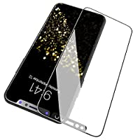 iPhone X Screen Protector,3D Touch Full Coverage,Titanium Metal Edge,More Fashion [ Tempered Glass x 2 ] [ Edge to Edge Protection ] for Apple iPhone X (2017) by LLARIMIN