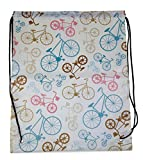 Bicycle Drawstring Backpack
