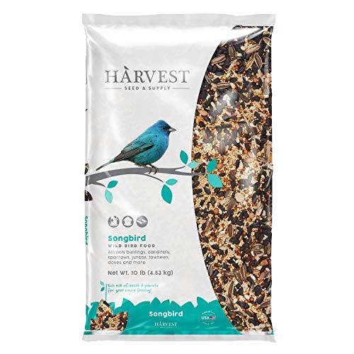 Harvest Seed & Supply 12868 Songbird Wild Bird Food, 10-Pound