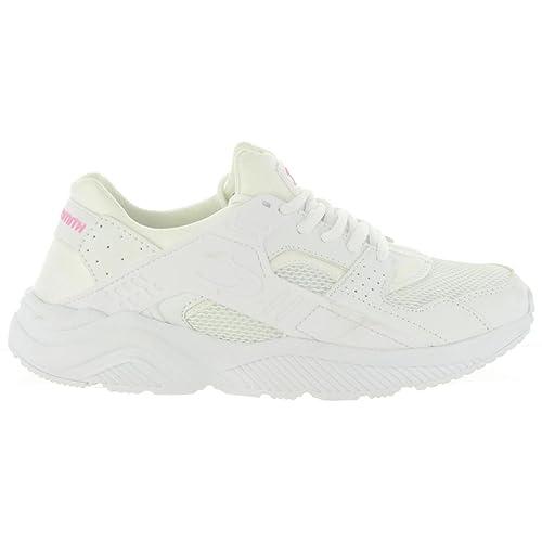 Zapatillas Deporte de Mujer JOHN SMITH ROXIN W 17I Blanco-Rosa Talla 40: Amazon.es: Zapatos y complementos