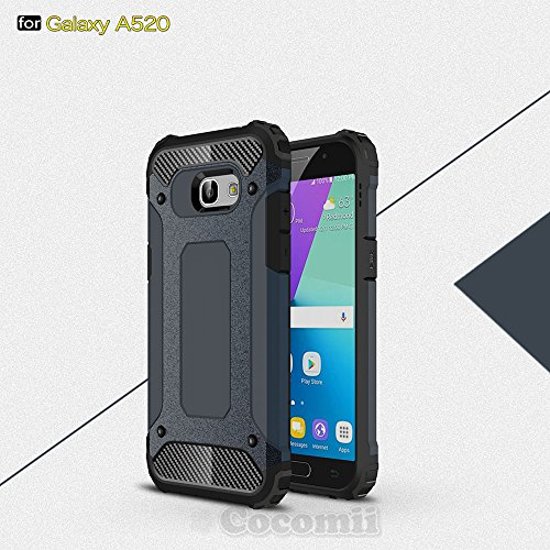 Slim Shockproof Case for Samsung Galaxy A5 (Blue) - 5