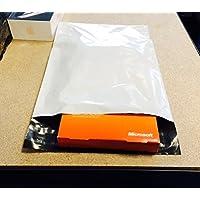 Lot de 50 Enveloppes pochettes d'expédition plastiques A5 blanches opaques 170 x 240 mm 50 microns. 17x24 cm Enveloppe fine 5g, légère, solide, inviolable et imperméable.