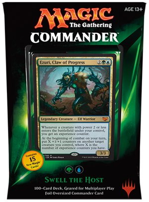 Magic The Gathering Commander 2015 Swell the Host - Magic Swell