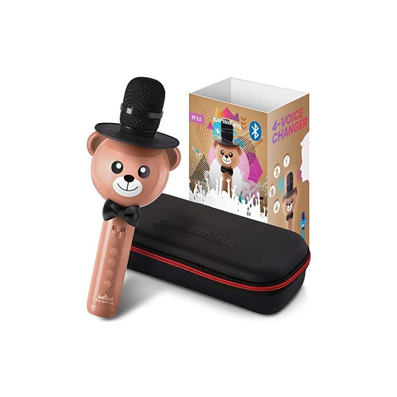 Wireless Karaoke Microphone for Kids – B