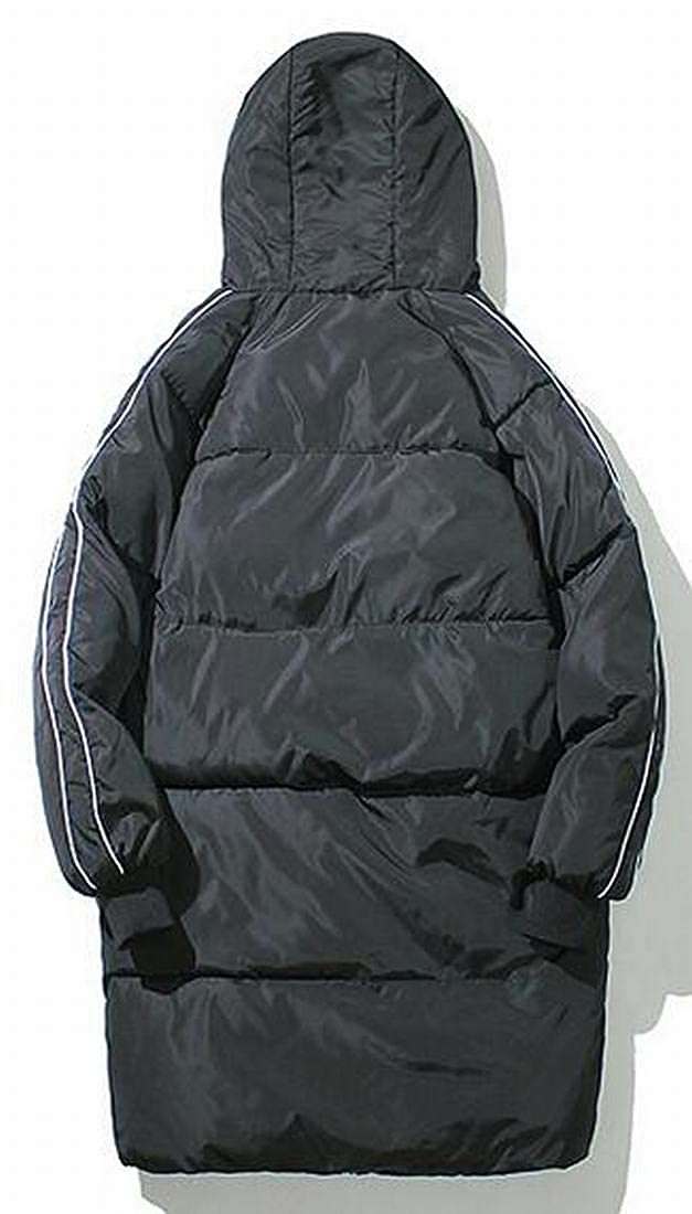 XiaoTianXinMen XTX Mens Hoodie Fall Winter Plus Size Thicken Warm Quilted Jacket Coat Outerwear
