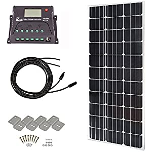 HQST Monocrystalline Off Grid Controller Mounting