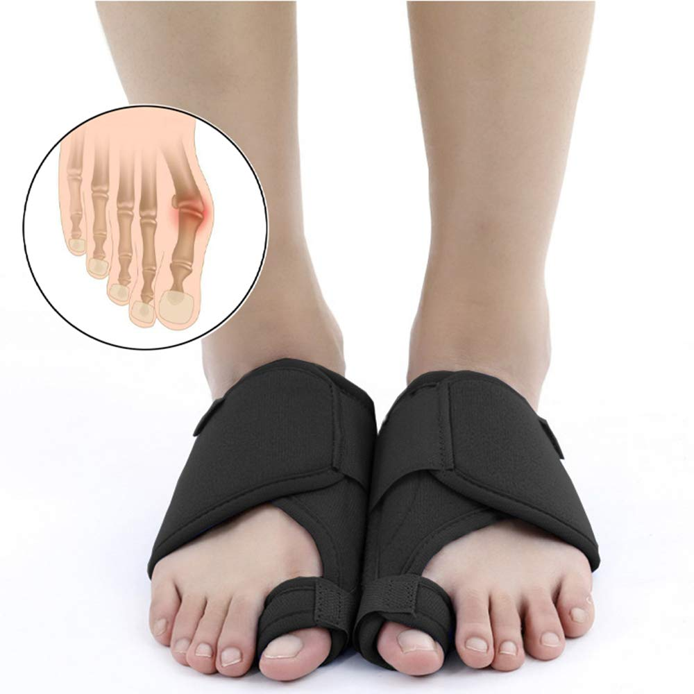 69aa19406 Bunion Corrector and Bunion Relief Splints - Orthopedic Bunion Corrector  Splints - Foot Pain Relief Hallux Valgus - Gel Toe Separators for Women and  Men ...