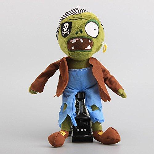 Pirate Zombie Pirate Seas 12 Inch Toddler Stuffed Plush Kids Toys PVZ ()