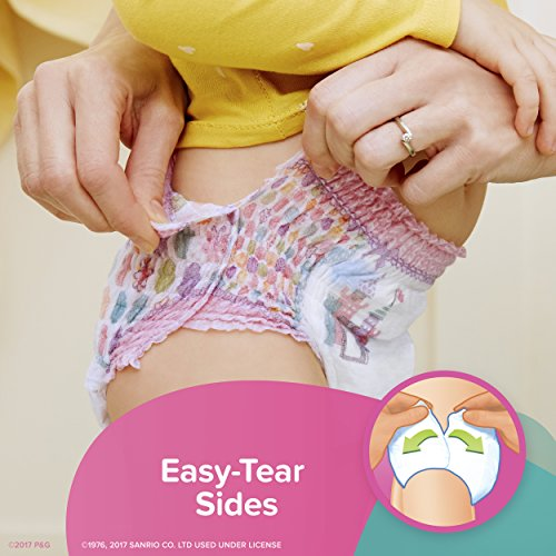 Large Product Image of Pampers Easy Ups Training Girls Underwear, Size 4 2T-3T, 74 Count