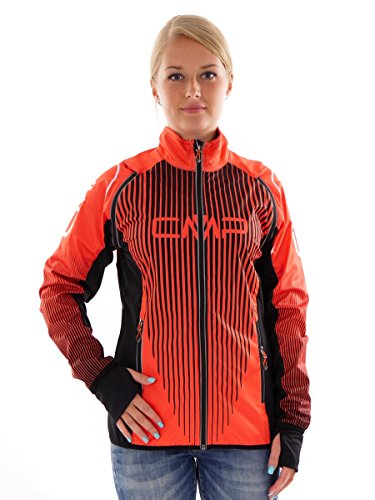 CMP MULTI-SPORTJACKE FUNKTIONSJACKE 2IN1 ORANGE STRETCH CLIMAPROTECT® 3C26666