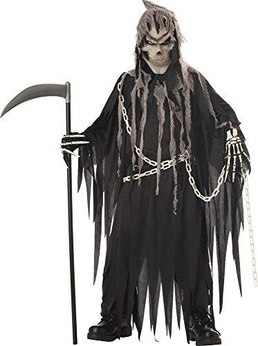 BESTPR1CE Boys Halloween Costume-Mr Grim Kids Costume Large 10-12]()