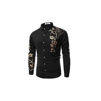 4c2be1197 WULIFANG Nueva Marca De Moda para Hombres Camiseta Floral 3D ...