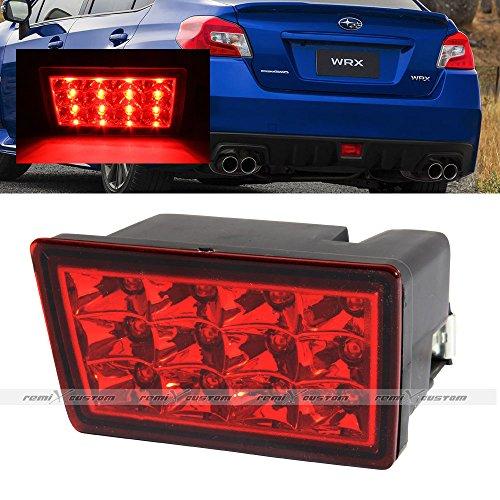 (Remix Custom LED 3rd Brake Light For 2011 2012 2015 2016 Subaru Impreza WRX STI LED Red Tail Lamp Lights)