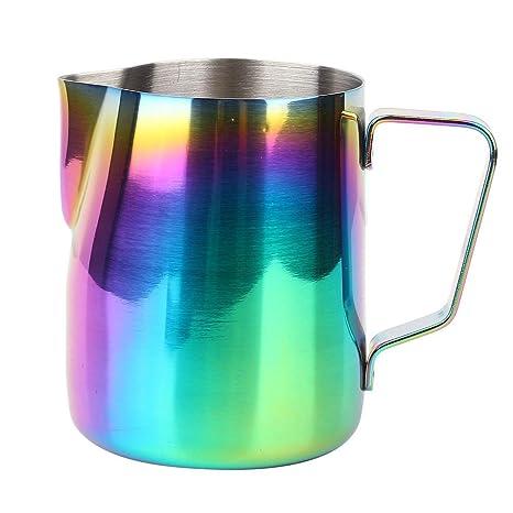 Jarra de café colorido de acero inoxidable Pasamer Espuma de ...