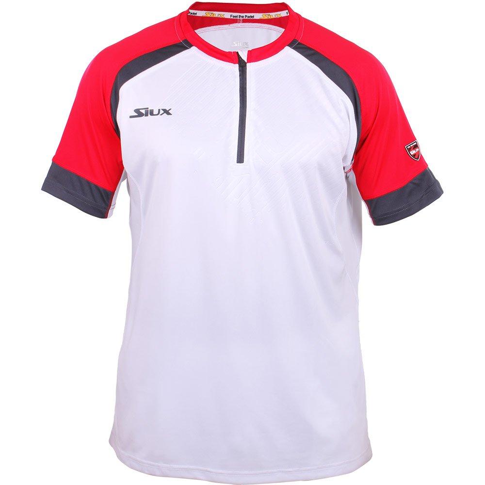Siux Camiseta SUMPRA Blanca Y ROJA: Amazon.es: Deportes y aire libre