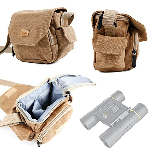 duragadget-light-brown-medium-sized-canvas-carry-bag-for-national-geographic-9025000-10-x-25-binocul