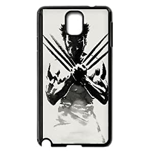 Samsung Galaxy Note 3 Cell Phone Case Black Wolverine xzvo