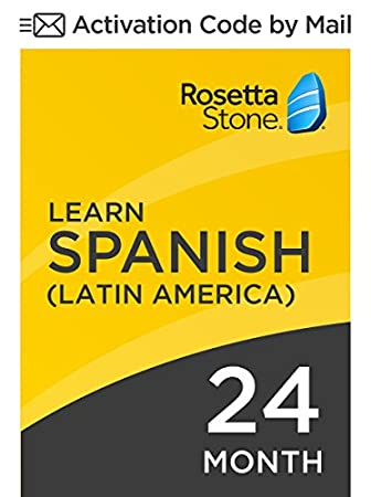 Rosetta Stone: Learn Spanish (Latin America) for 24 months on iOS, Android, PC, and Mac - mobile & online access
