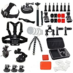 Basic & Common Outdoor Sports 31-in-1 Kit For Gopro Hero 4, 3, 2, 1 Camera