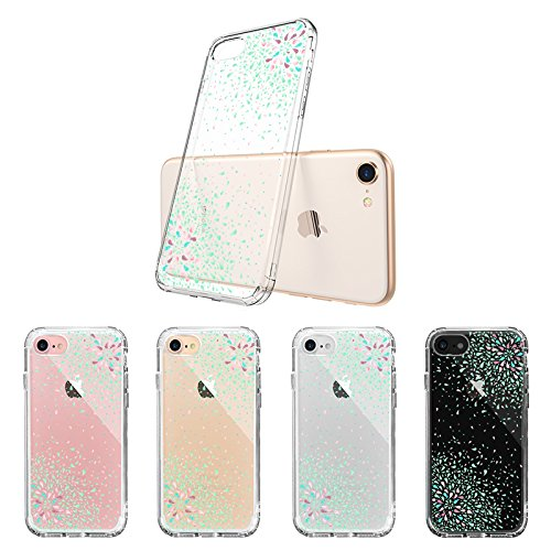 Mix Design Case for iPhone 7 iPhone 8 Mint Confetti