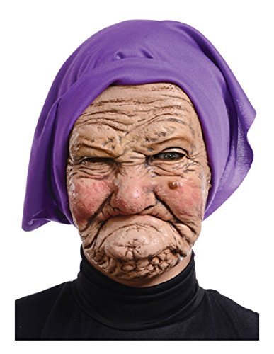 Mario Adult Granny Mask (Old Lady Mask Costumes)