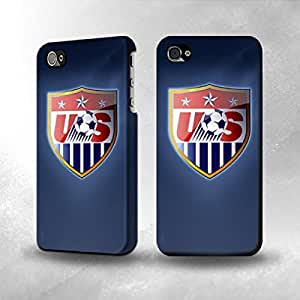 Apple iPhone 4 / 4S Case - The Best 3D Full Wrap iPhone Case - Worldcup 2014 USA