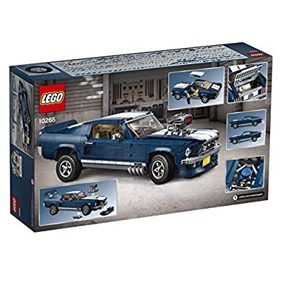 LEGO Creator Expert Ford Mustang 10265 Building Kit (1471 Pieces): Toys & Games