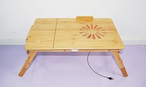 Corlorf ulword 55 x 35 cm laptop tavolo tavolino ginocchio tavolino