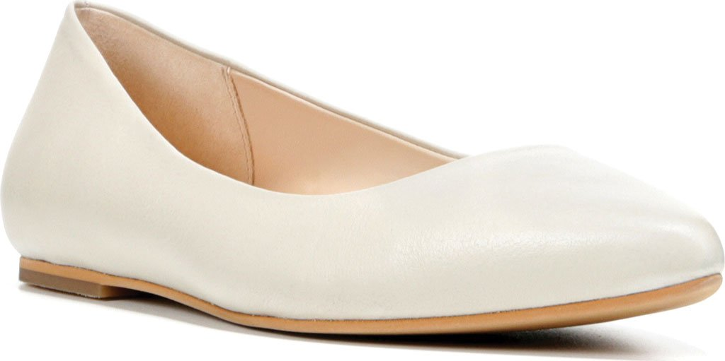 Dr. Scholl's Original Collection Women's Kimber Pointed Toe Flat B01KGEG328 10 B(M) US|Greige Maribel Leather