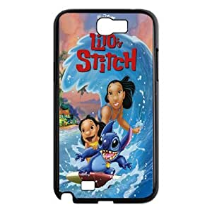 JamesBagg Phone case Cute Stitch series protective case cover For Samsung Galaxy Note 2 Case LS-LILO93577