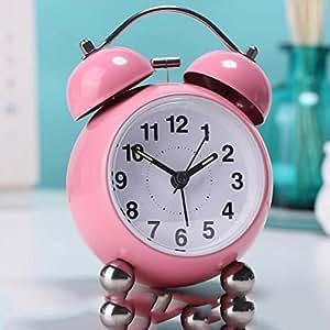 Modern mute alarm clock creative kids room alarm clock bedside clock alarm clock - Unique alarm clocks for teenagers ...