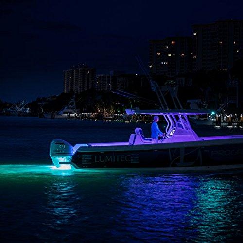 Lumitec SeaBlazeX 101140, LED Underwater Boat Light, Surface Mount, White, White Cross Fade, White Strobe by Lumitec (Image #4)