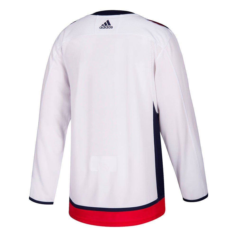 Amazon.com   adidas 2017-18 Washington Capitals Authentic Climalite Away  White Jersey Men s   Sports   Outdoors ca1cb5d8e