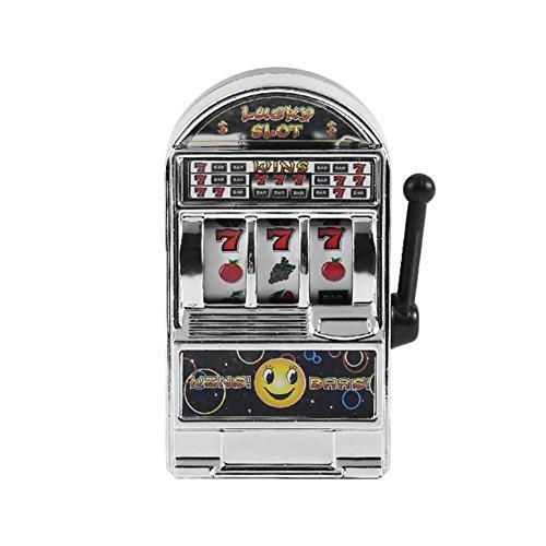 Fashionwu ミニ カジノジャックポット スロットマシン フルーツ ストレス解消 減圧玩具