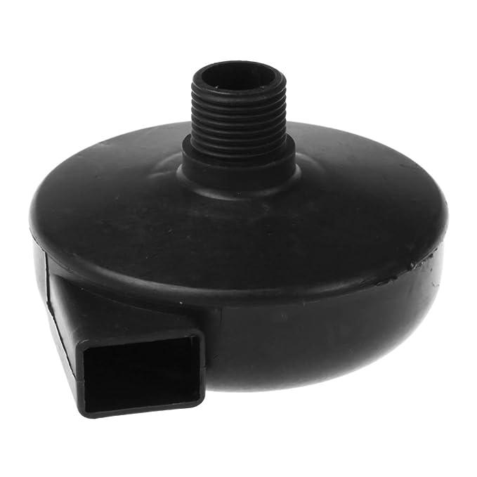 R TOOGOO 3//8PT Silenciador de filtro de plastico de entrada de rosca para Compresor de Aire