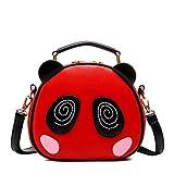 Hipytime AHB880448C2 2016 PU Leather Cute Cartoon Women's Handbag,Round Other