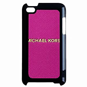 Fashion Style MK Logo Image Phone Case Cover For Ipod Touch 4Th PLUS Pink MK Back Phone Case Design For Ladys JM-001 JM-001
