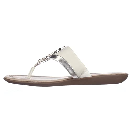 1ba33f1bb36 Bandolino - Sandalias de Vestir para Mujer Blanco Off White Light Gold   Amazon.es  Zapatos y complementos