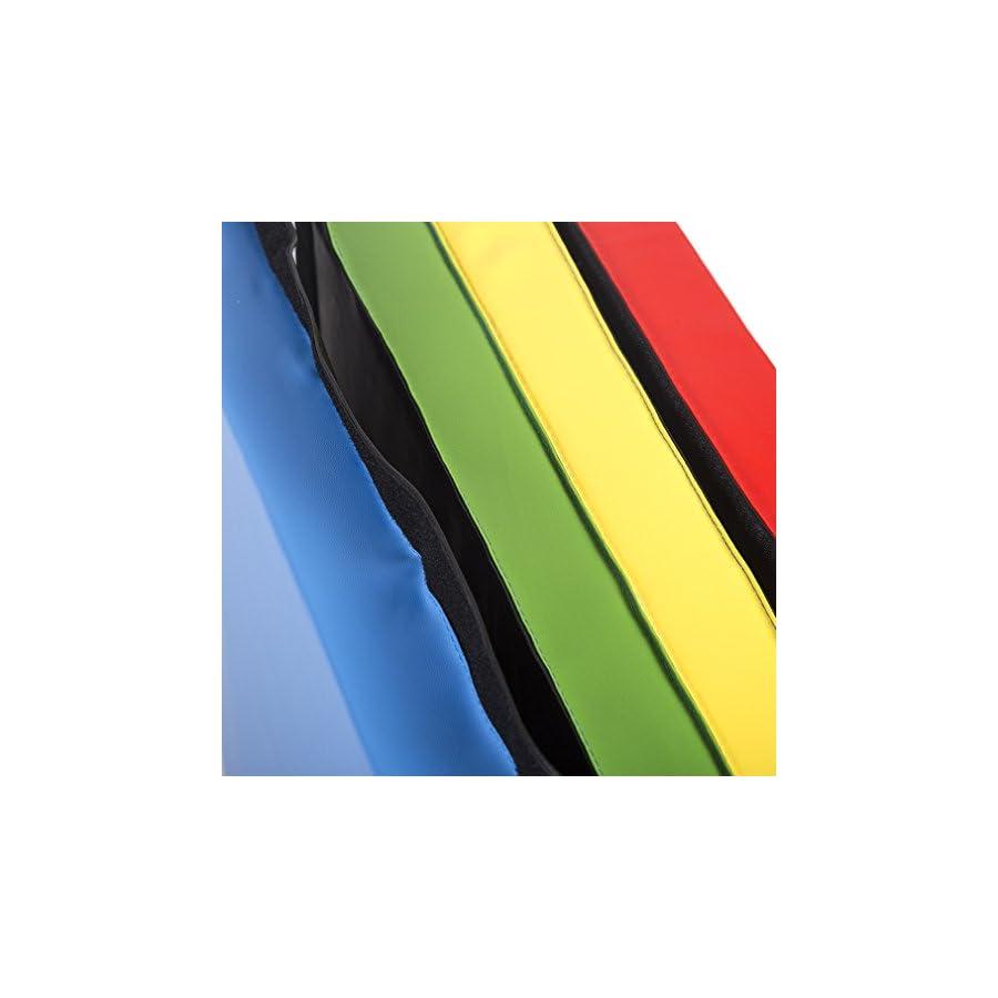 BestMassage 4'x10'x2 Thick Folding Panel Gymnastics Mat Fitness Gym Exercise Mat