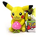 "Pokemon Pikachu with Pecha Berry 8"" Easter Plush"