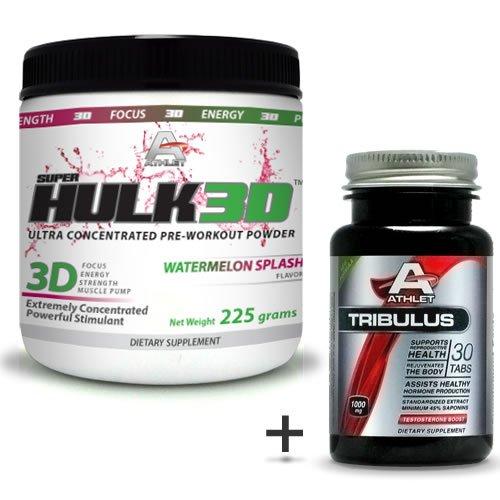 Athlet savoir Hulk3d pré-entraînement pastèque en poudre Gr. 225-f ocus Splash sans Tribulus