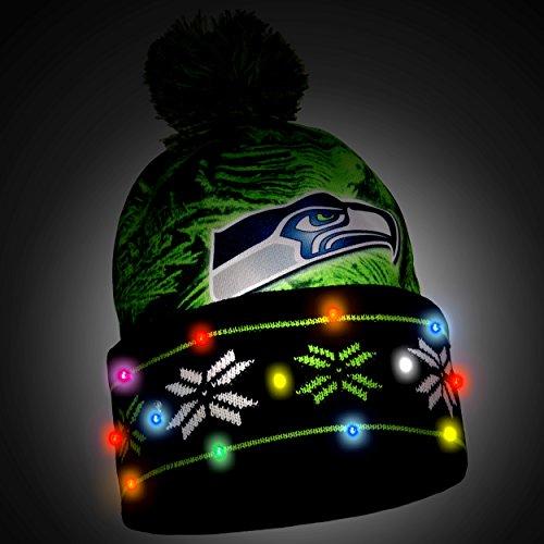 Seattle Seahawks Light Up Hat – Football Theme Hats b46b7c03d1e