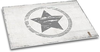 """Papier Schreibtischunterlage """"Sternstunde"""" DIN A2grau Sterne 40 Blatt"""