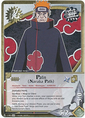 Naruto Card - Pain (Naraka Path) [Naraka Path] 1100 - Tales of the Gallant Sage - Uncommon