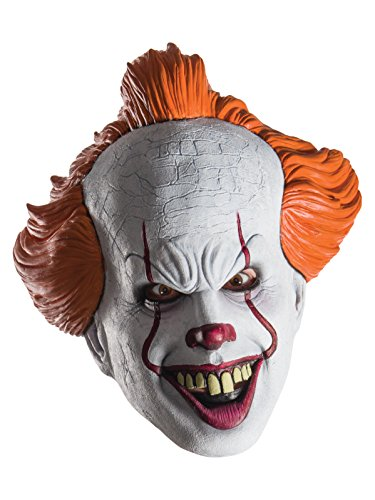 Rubie's Costume Co. Women's Standard Pennywise Mask, As