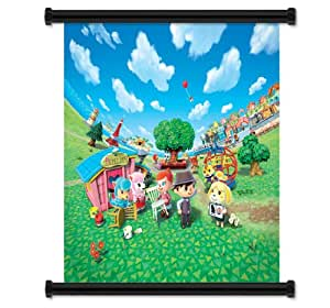 Animal crossing new leaf juego tela de pared p ster de - Animal crossing new leaf salon de detente ...