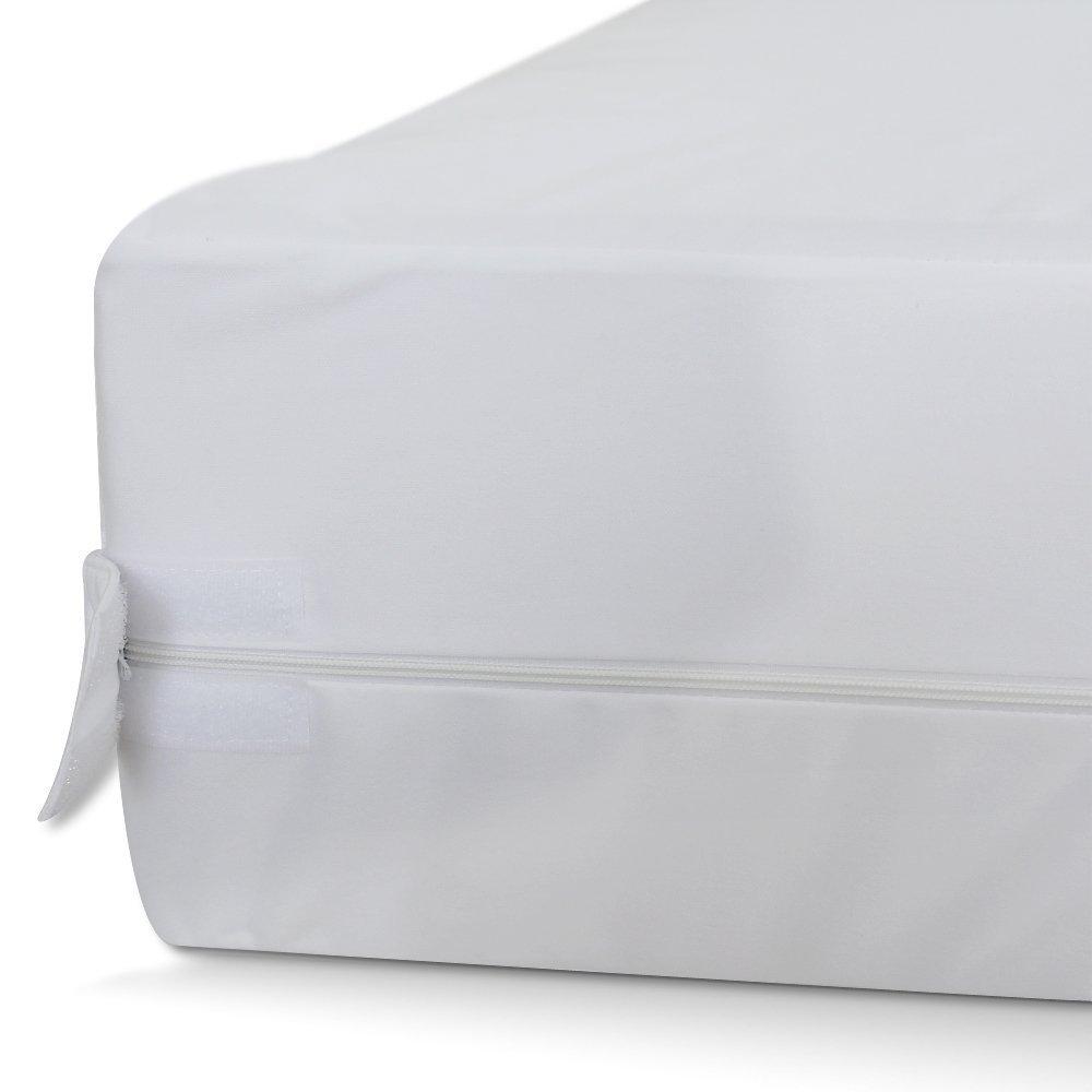Everest Supply Premium Plus Encasement CRIB size 28x52+6'' (fits 5-7'' depth) Bedbug proof, Waterproof, Hypoallergenic, Machine Washable.
