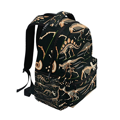 Bookbag Lightweight Elementary Dinosaur Ahomy Backpack Rucksack School Skeleton Unisex School wqpAYP