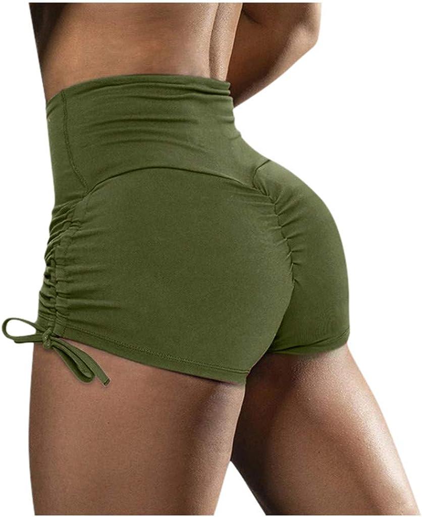 DaySeventh Womens Basic Slip Bike Shorts Compression Workout Leggings Yoga Shorts Capris Drawstring Shorts for Women