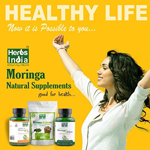 photo Wallpaper of India Herbs-Moringa Powder   Leaf & Seed Powder In (97:3) Ratio   All-